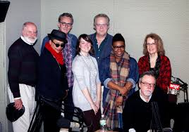 the nose reminisces on 2015 wnpr news l to r james hanley kate rushin jim chapdelaine rebecca castellani rand richards cooper taneisha duggan irene papoulis and colin