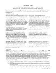 Cover Letter It Business Analyst Resume It Business Analyst Resume