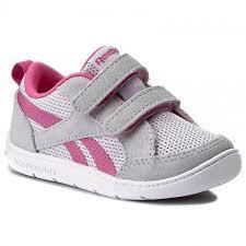 reebok velcro shoes. shoes reebok - ventureflex chase ii bs5580 cloud grey/pink/white velcro