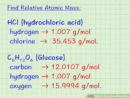 How To Calculate Molar Mass 7 Steps With Pictures Wikihow