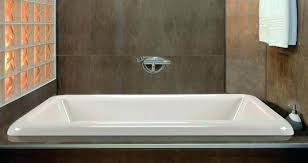 alcove bathtub images drop in rectangle bath installed an pictures best sizes two wall a
