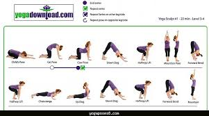 Basic Yoga Poses Chart Yogaposes8 Com