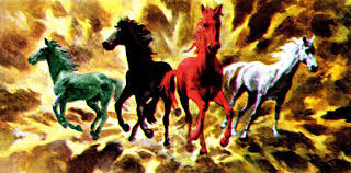 Image result for the 4 spirit horses in the bible