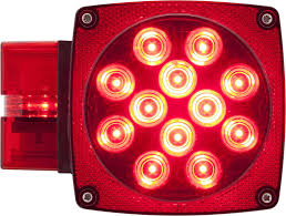 Optronics Tll 9rk Led Sealed Trailer Light Kit Amazon Com Optronics Stl3rbp Red Led Combination Tail Light