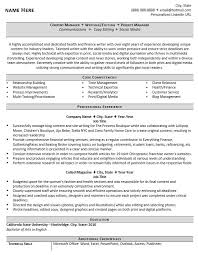 Bistrun Core Competencies Resume Examples Executive Resume