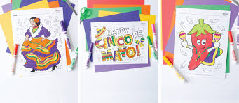 This listing is for all 10 cinco de mayo coloring pages that are shown in the photos. Free Cinco De Mayo Coloring Pages Fun365