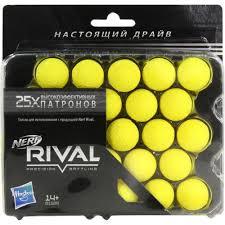 <b>Игрушка Hasbro Nerf Rival</b> 25 шаров — купить в городе ЛИВНЫ