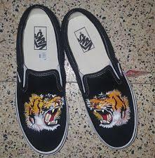 gucci vans. vans × gucci slip-on shoes size 9 tiger model