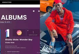 Shatta Wales Wonder Boy Album Tops Billboard Charts
