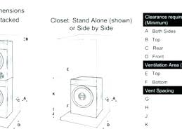 standard washer dryer dimensions washer and dryer dimensions dimensions of washer dryer and in x washer standard washer dryer dimensions