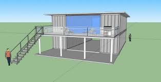 $10 Ranch Style Container Home