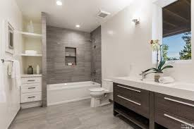 Best contemporary bathroom 4 tags contemporary full bathroom with rain  shower head, european cabinets,