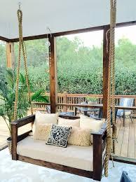 front porch swing bed memorable diy for bistrodre and landscape home design ideas