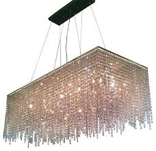 rectangle chandelier crystal chandeliers 8 light contemporary crystal chandelier rectangular shape chrome rectangle chandelier