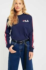 fila unitard jumpsuit with front logo. fila alina navy striped long sleeve t-shirt fila unitard jumpsuit with front logo