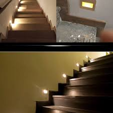 led stairway lighting. Amazon.com : Fuloon LED Recessed Downlight, Spot Light Stage Stair Lighting Wall Decking Deck Lights (Warm White ) Garden \u0026 Outdoor Led Stairway