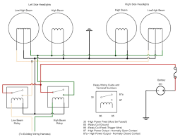 spot light wiring diagram wiring diagram shrutiradio how to wire spotlights on a car at Spotlight Wiring Diagram Relay