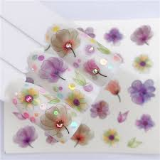 <b>YWK Water Nail Art</b> Transfer Nail Stickers Water Decals Beauty ...