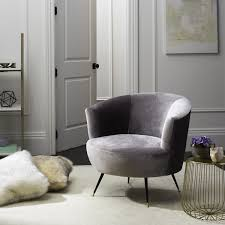 grey studded accent chair armless accent chairs gray wing chair gray and gold accent chair high