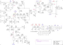 silvertone model 1263 i drew up a complete schematic available in