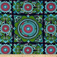 Amy Butler Home Decor Fabric Amy Butler Eternal Sunshine Home Decor Sateen Mantra Marine