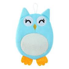 <b>Мочалка ROXY</b>-<b>KIDS Рукавичка</b> Baby Owl - Акушерство.Ru