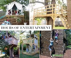 Easy kids tree houses Ground Great Ideas For Treehouses Andreas Notebook Top 10 Reasons Kids Need Treehouse