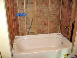 kohler tub surrounds accord x soaking bathtub by sterling acrylic