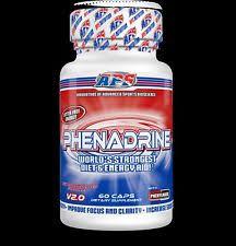 item 1 aps nutrition phenadrine v2 0 original formula fat burner capsules t pills aps nutrition phenadrine v2 0 original formula fat burner capsules