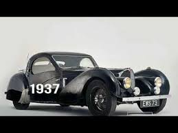 This is a vintage 1960 bugatti owners club christmas card from 1960 (sent out with the best the front shows the bugatti t59 (chassis 59124) while owned by francis h. Evolution Of Bugatti 1901 1960 Youtube