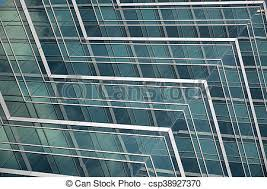 Office Window Glass Patterns Strong Geometric Patterns Of Office