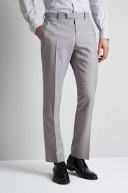 Shoes With Light Grey Pants Slim Fit Light Grey Trousers