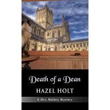 Death Of A Dean - By Hazel Holt (Hardcover) : Target