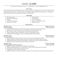 Resume Templates For Stocker – Betogether