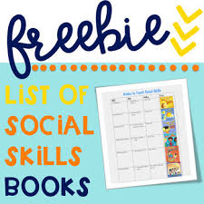 Free List Of Social Skills Books