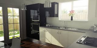 Choose Among The Best Kitchen Work Tops Ideas 6 kitchen black ...