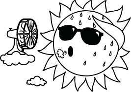 Sun Coloring Page Sun And Moon Coloring Pages Sun Coloring Page Too