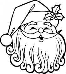 Small Picture Face Of Santa Claus Coloring Pages Christmas Coloring pages of