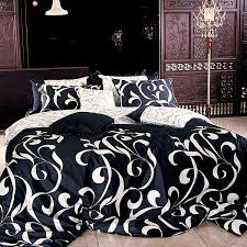 black white star pattern printing bedding sets twin queen super pertaining to popular property black and white duvet covers ideas
