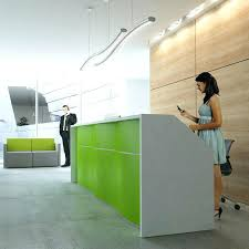 office front desk design. Front Desk Design Lime Green Office Reception For Professional Ideas And Layout