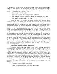 teaching argumentative essay writing  writing process 2 will