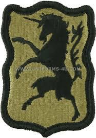Us Army Cavalry U S Army 6th Cavalry Regiment Patch