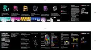 Monster Illuminessence Small Space Led Mood Light Kit 190715 00 Rf 2 4ghz Remote User Manual