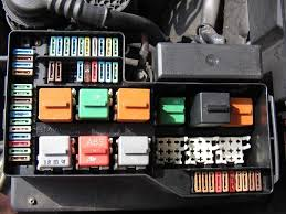 fuse box layout