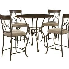 Best Wrought Iron Dining Room Sets Gallery Tall Kitchen Table And Chairs