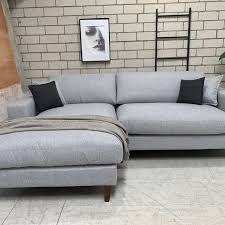 3 seater duck feather chaise lhf