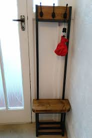 Small Coat Rack Stand Adorable Narrow Coat Stand Hallway Bijou Coat Rack With Seat And Shoe Storage