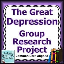 great depression group research project high school students great depression group research project high school students depression and to work