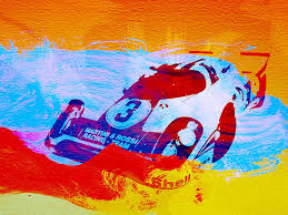 vintage car painting porsche 917 martini and rossi by naxart studio on martini and rossi wall art with porsche 917 martini and rossi painting by naxart studio