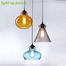 colored glass pendant lights uk coloured australia kitchen blown